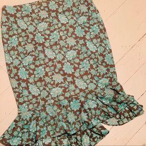 Vintage Express Skirt (asymmetrical back/front)